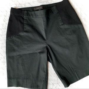 BCBG MAXAZRIA Classic Black Pull-On Shorts